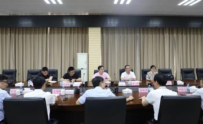 吉利科技集团CEO徐志豪到百矿集团调研
