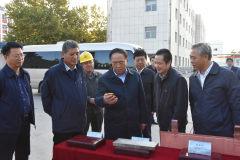运城市市委书记刘志宏一行到中条山集团调研指导工作