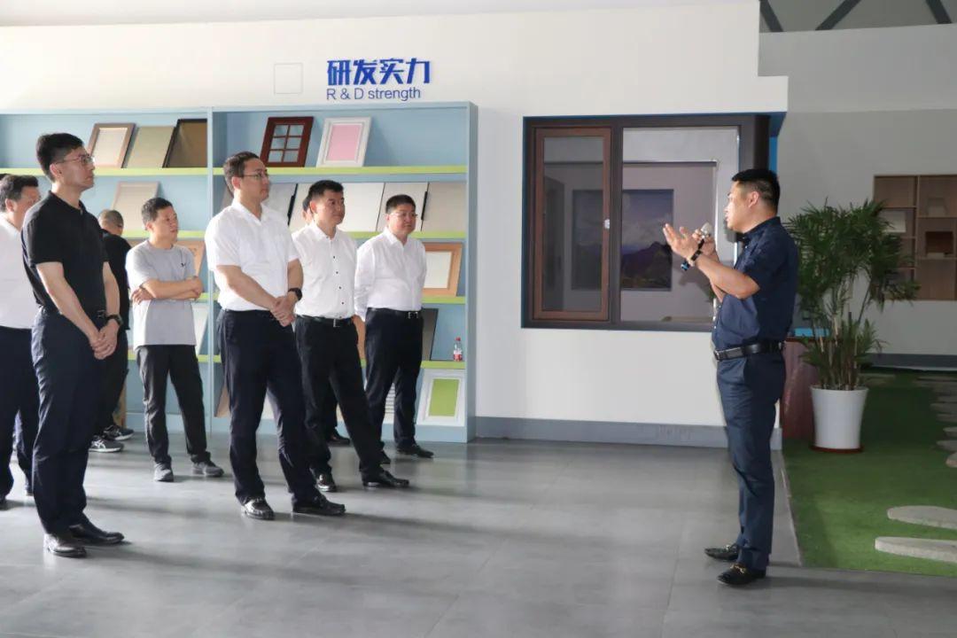 桐庐县党政代表团赴栋梁铝业参观考察
