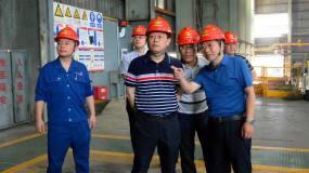 贵溪冶炼厂党委书记、厂长吴军到江铜铅锌公司参观交流