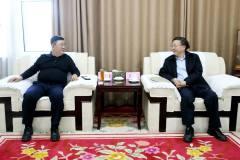 西部矿业集团公司与中国恩菲公司进行座谈