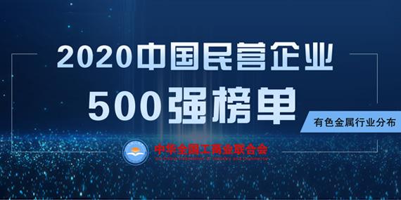 2020中國民營企業500強榜單