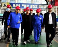 葫芦岛有色董事长于洪带队赴河南豫光金铅考察