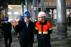 中国黄金集团内蒙古矿业有限公司到多宝山铜业调研