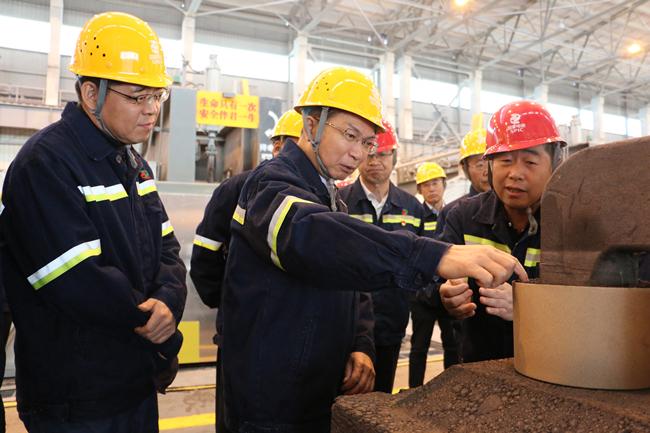 国家电投江毅调研铝电公司
