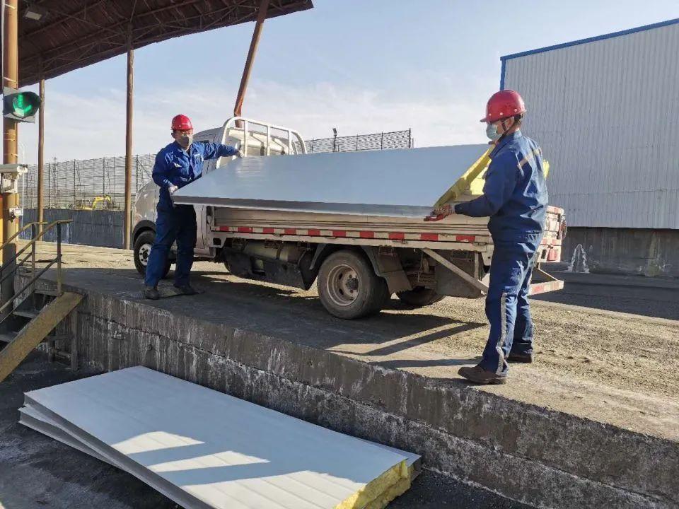 五鑫铜业质量检验部自主对3号磅房进行升级改造