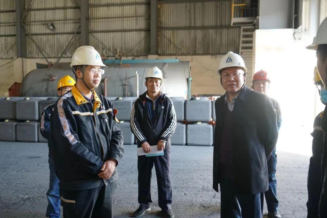 抚顺市总工会专家组到抚顺铝业调研