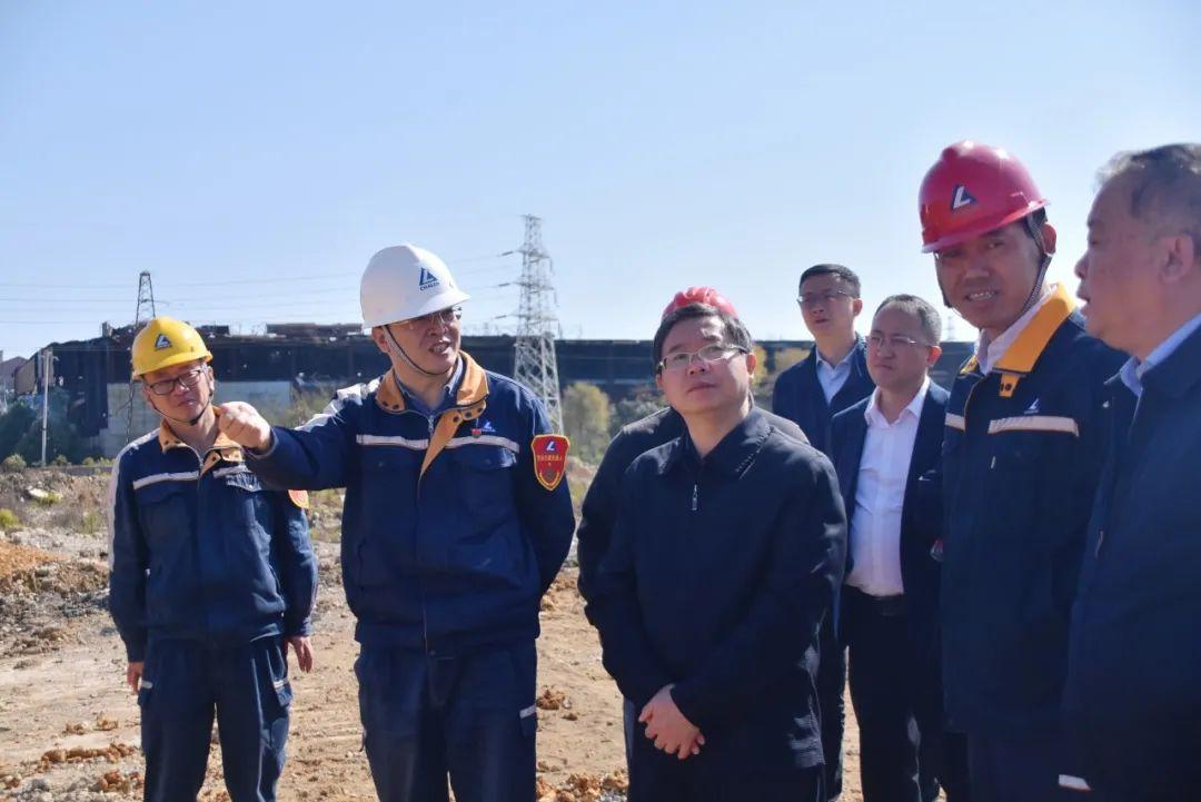 生态环境部调研组到贵州铝厂调研