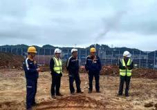 杭州锦江集团有限公司副总经理皮溅清到访遵义铝业