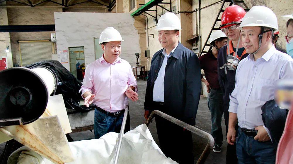 北港集团赵勇彪到华锡集团佛子公司、梧冶公司生产一线调研