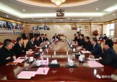 中铝集团总经理刘祥民一行到魏桥创业参观考察