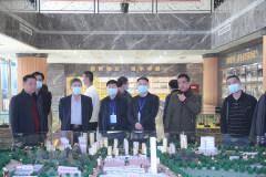 重庆市经信委常务副主任蔡永生一行到中金资源参观考察