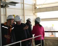 怒江州人大社会建设委员会到金鼎锌业公司调研