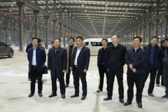 全省制造业高质量发展工作第二督查组督察栋梁铝业