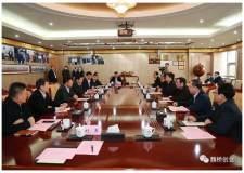中铝集团总经理刘祥民到魏桥创业集团参观考察