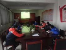 奥鞍技术专家到新疆五鑫铜业熔炼厂进行转炉操作技术交流