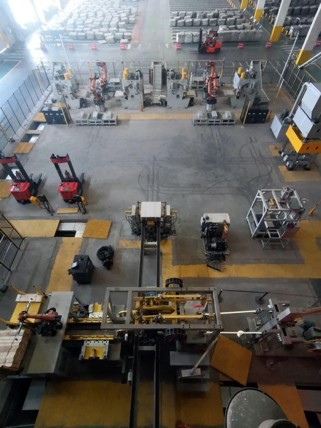 全國最大智能化成品包裝車間在金川集團試運行