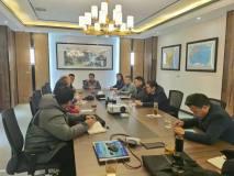许昌市环保局董局长一行莅临长葛市再生铝行业协会
