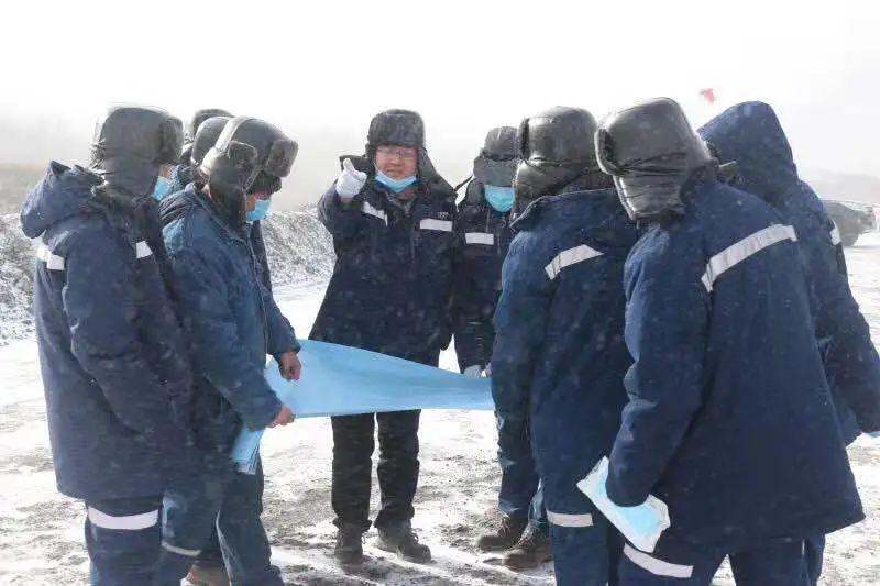 国家电投铝电公司总经理冯建清到山西铝业调研