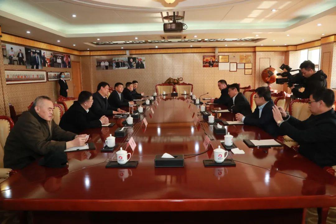 惠民县委书记张瑞杰一行到魏桥创业集团调研