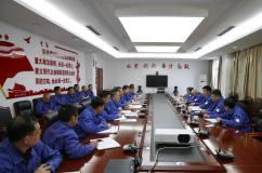 酒钢集团公司总经理魏志斌到东兴铝业公司调研指导