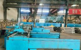东兴铝业嘉峪关熔铸一作业区完成合金导杆锯切设备的优化改造