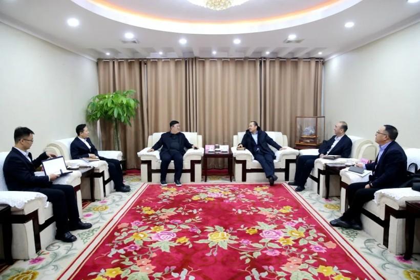 西部矿业与中国银行青海分行举行座谈