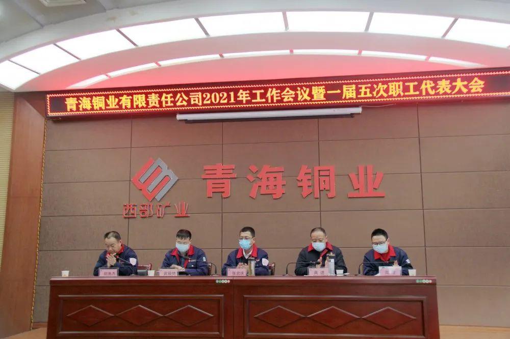 青海铜业召开 2021年工作会议暨一届五次职工代表大会
