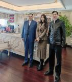 贵州省领导一行莅临广东高登铝业集团调研考察