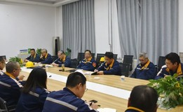 贵州铝厂执行董事陈刚到合金化事业部调研