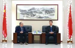 长沙有色冶金设计研究院执行董事廖江南到访平果铝