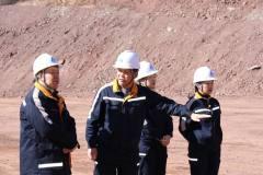 中国铜业副总裁王运正到金鼎锌业调研