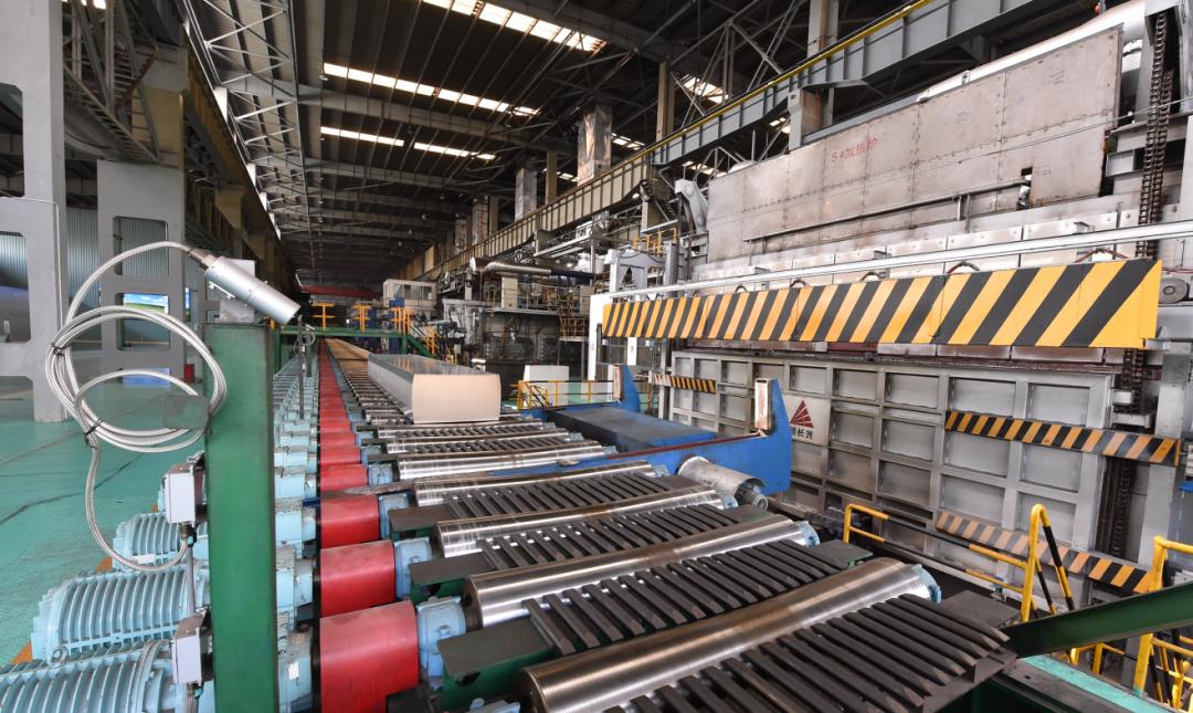 中铝西南铝事业部热连轧制造中心降本增效成效明显