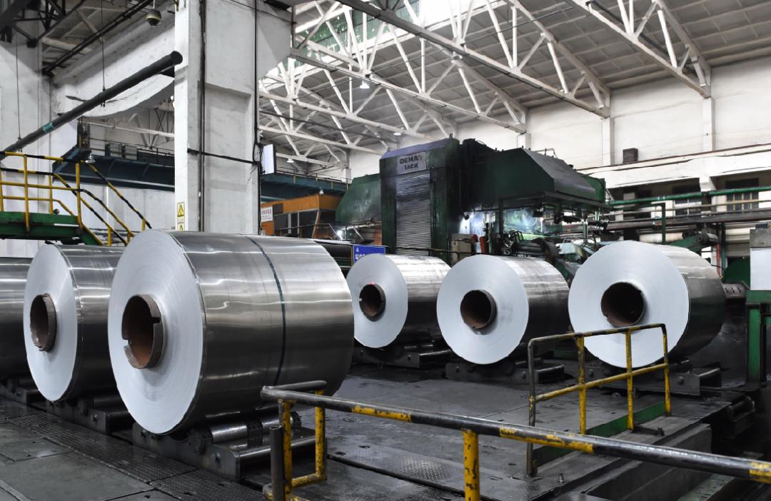 中铝西南铝事业部冷轧制造中心单月产量刷新历史记录侧记
