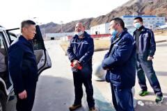 乌恰县副县长到中色大冶矿业分公司萨热克铜矿走访慰问