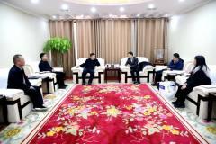 西部矿业集团公司与中国瑞林工程公司举行座谈