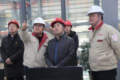昌都市副市长贾新雨到玉龙铜业调研