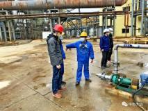 黄石市应急管理局到中色大冶冶炼厂检查安全生产