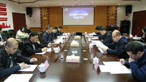 西江集团与华锡集团进行合作交流洽谈