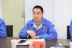 白银集团总经理王彬会见中核钛白公司副总裁俞毅坤