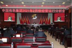 中国有色集团召开2021年2月份经营运行分析会