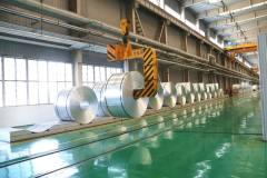 东兴铝业成功轧制空调铝箔薄板