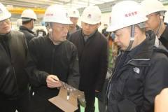 生态环境部固体废物与化学品司副司长周志强一行到明泰铝业调研考察