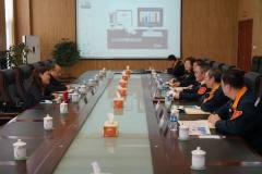 中铝集团运营优化部副总经理赵红梅一行到抚铝调研
