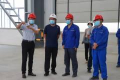文山州生态环境局副局长陈文一行到云南神火检查指导工作