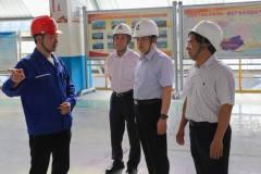 中国农业发展银行云南省分行行长余立松到云南神火调研