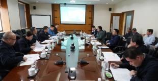工业和信息化部原材料司副司长常国武一行到金川集团调研