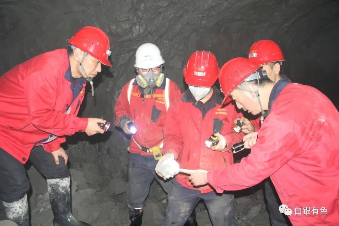 白银有色厂坝矿夺取首季生产开门红