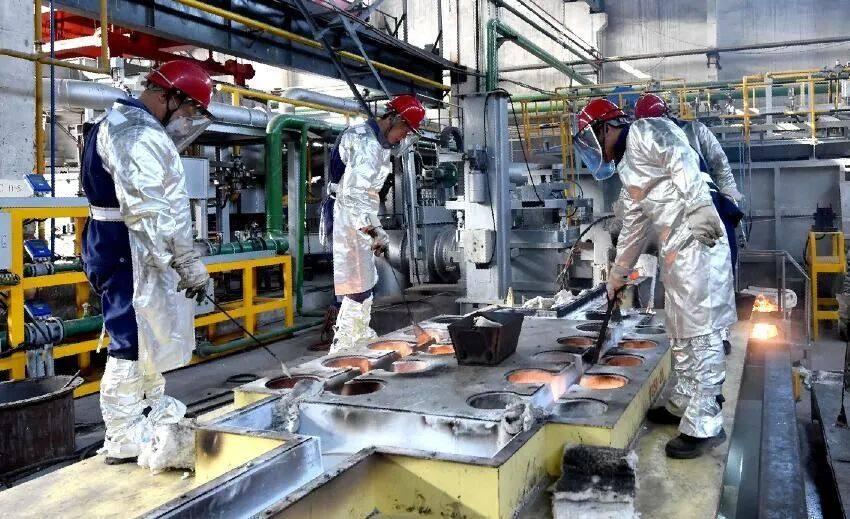 中铝西南铝熔铸厂首季铸锭发货量同比增长23%