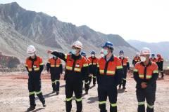 邹来昌总裁深入调研紫金锌业 指导企业未来发展规划